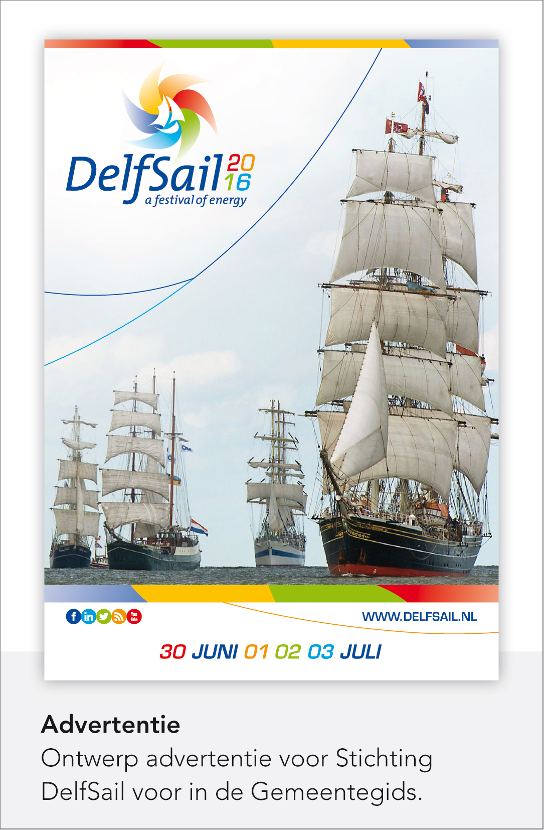 DelfSail 2016 - Advertentie