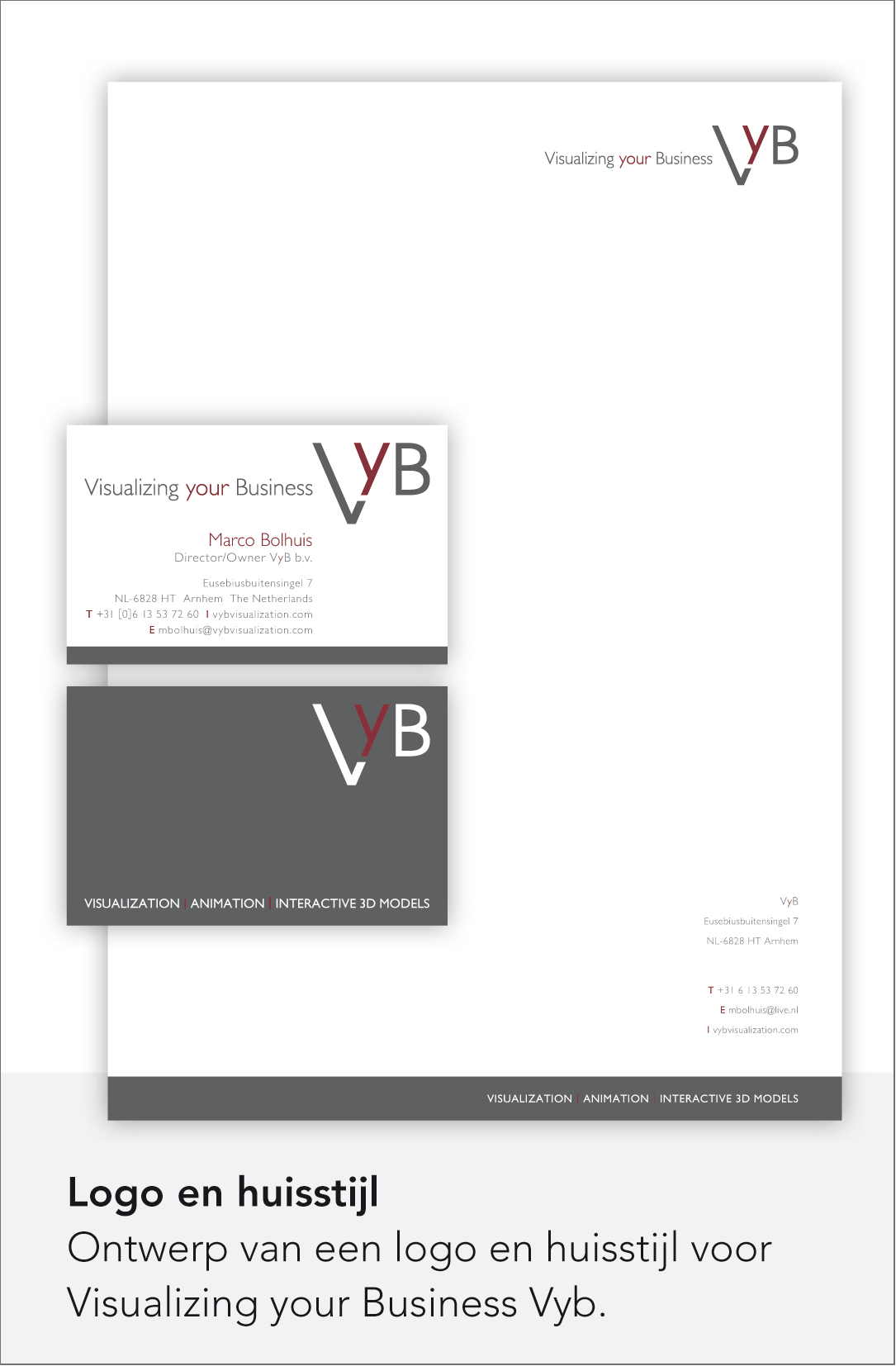 VyB Visualizing your Business - Huisstijl