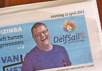 Ontwerpwedstrijd logo DelfSail 2016