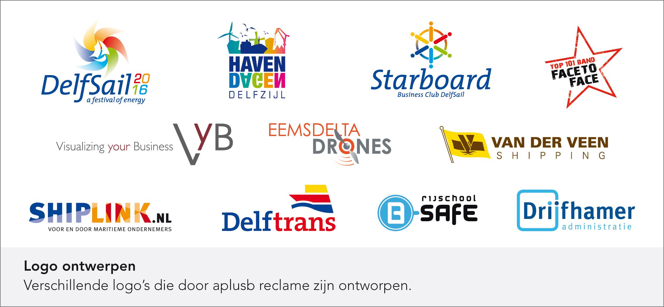 aplusb reclame - Logo ontwerpen