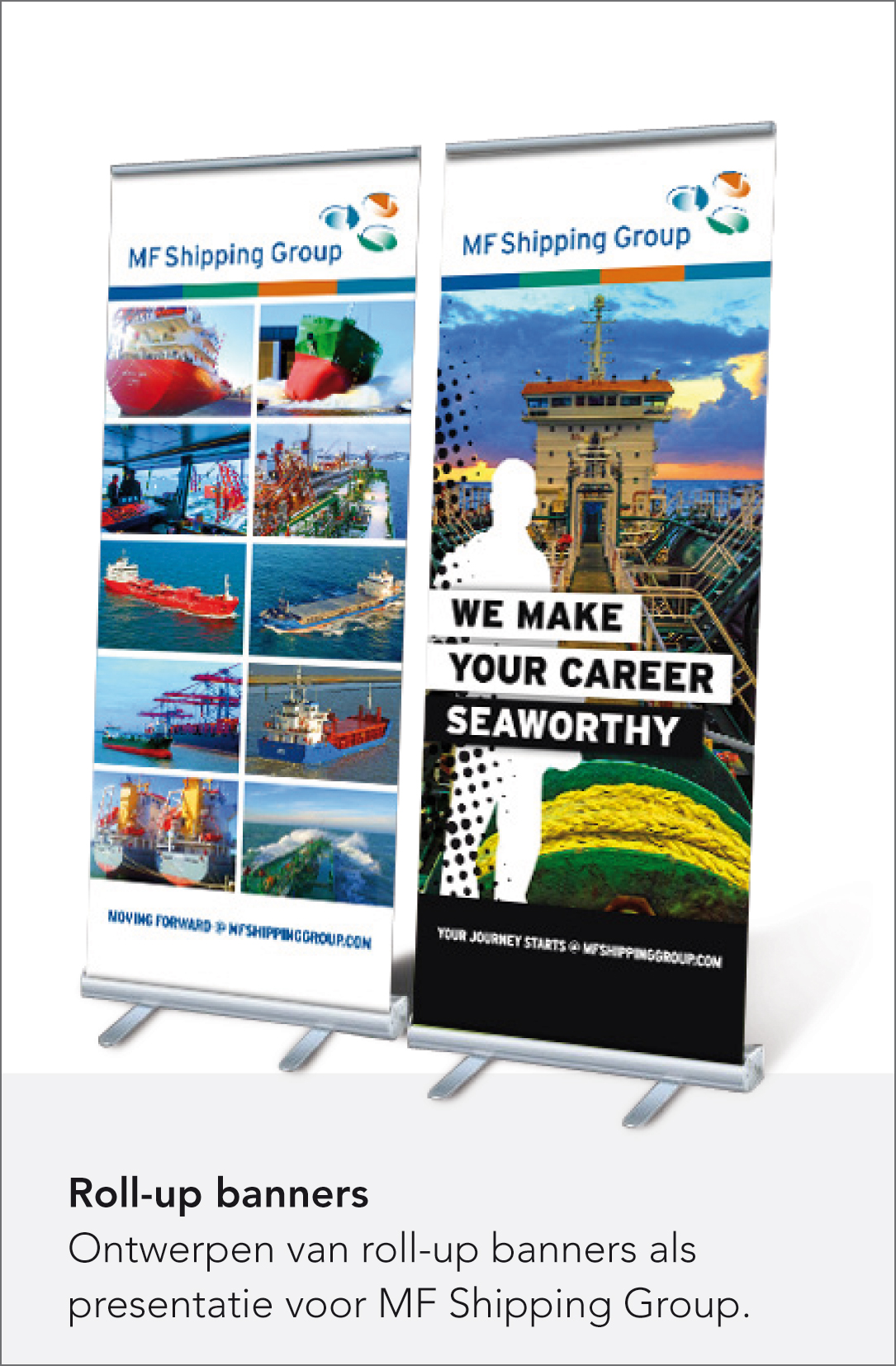 MF Shipping Group - Roll-up banners