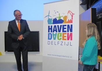 Onthulling logo Havendagen Delfzijl