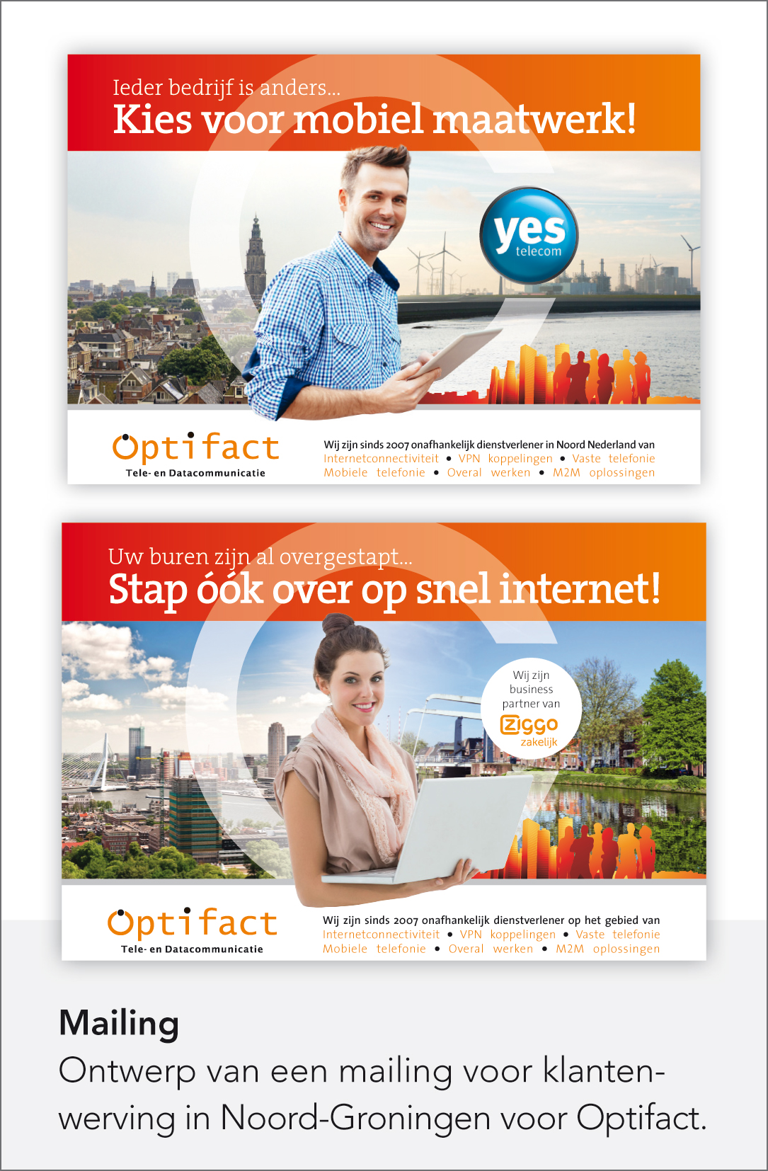 Optifact - Mailingkaarten