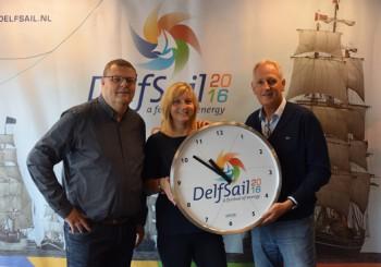 Klok voor Stichting DelfSail 2016